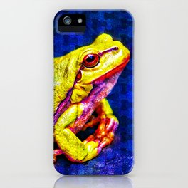 The InFocus Happy Frog Collection I iPhone Case