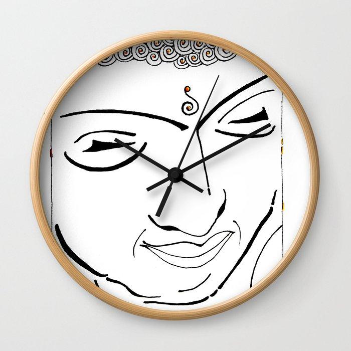 Buddha XIV Wall Clock