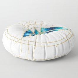 Nebula Warlock Sigil Floor Pillow