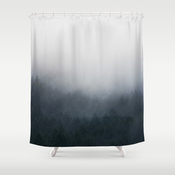 All Over Shower Curtain By Tekay
