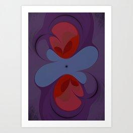 Rosy Desire Art Print