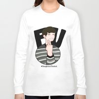 danisnotonfire Long Sleeve T-shirts featuring #CaughtInTheAct by taetaejojo