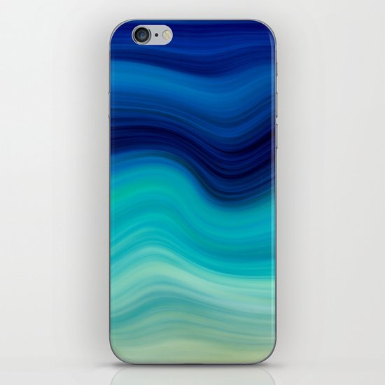 SEA BEAUTY 2 iPhone & iPod Skin