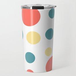 Coral Pop Travel Mug