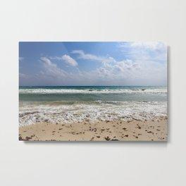 Playa del Carmen Beach Metal Print