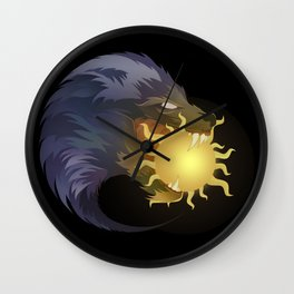 Ragnarok Awaits Wall Clock