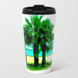 Tropical Tree Trio Travel Mug