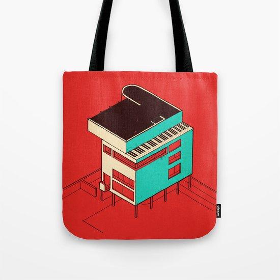 Music & Architecture Tote Bag