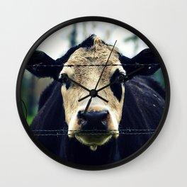 Moo Cow I Wall Clock