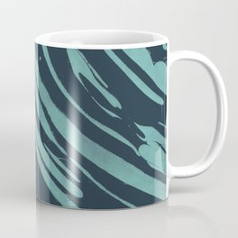 Nagashi Blue Coffee Mug