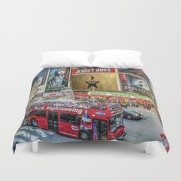 Times Square II Special Edition I Duvet Cover