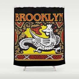 Brooklyn Stonework Shower Curtain