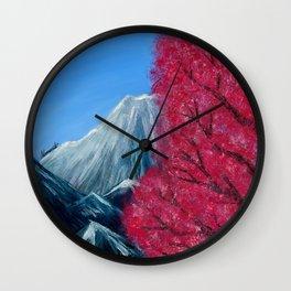 Sakura Season Wall Clock
