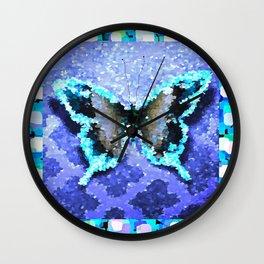 Butterfly Glow #2 Wall Clock