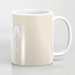 Eventing in Tan Coffee Mug