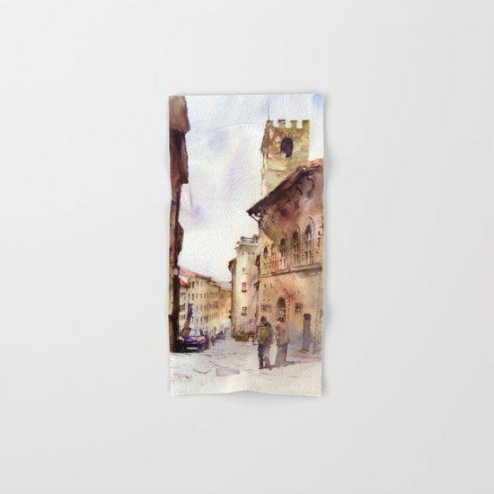 Italy oldtown Arezzo Hand & Bath Towel
