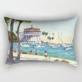 Avalon, Catalina Island Rectangular Pillow