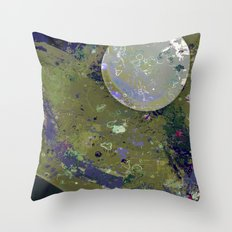 Dust 04 - Post Biological Universe Throw Pillow