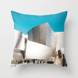Music Hall Throw Pillow