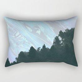 Abstract Nature Mountain Rectangular Pillow