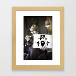 Anything You Say Can and Will be Held Against You Framed Art Print