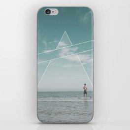 Paddle Triangle iPhone Skin