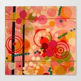 """Pink"" Canvas Print"