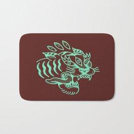 Neon Tiger Bath Mat