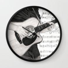 A Few Chords Wall Clock