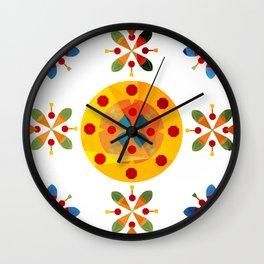 Oskar V: White Wall Clock