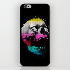 PIXEL SKULLY iPhone & iPod Skin