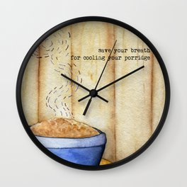 Snatch - Save Your Breath Wall Clock