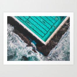 The Pool Art Print