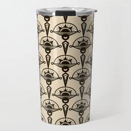 Seamless antique pattern art deco stylish print Travel Mug