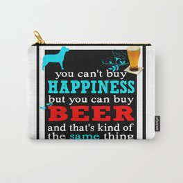 BEER AND HAPPINESS Carry-All Pouch