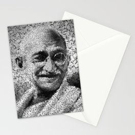 Homage to Gandhi Stationery Cards