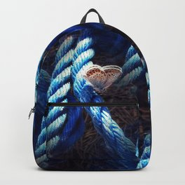 Rope and butterfly pattern Backpack
