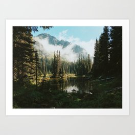 Quiet Washington Morning Art Print