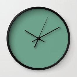 Crème de Menthe Wall Clock
