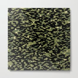Camouflage: Jungle III Metal Print