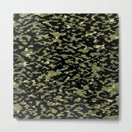 Camouflage: Jungle III Metal Print