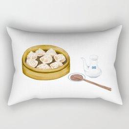 Dim Sum | XiaoLongBao | 小笼包 Rectangular Pillow