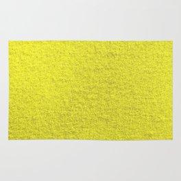 Yellow Fleecy Material Texture Rug