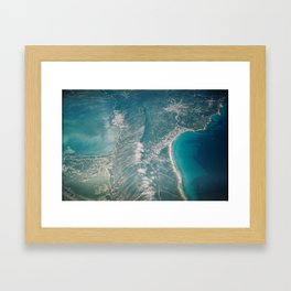Beautiful landscape Framed Art Print