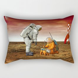 Astronauts Rectangular Pillow