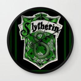 slytherin Wall Clock