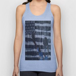 Blurred Lines Unisex Tank Top