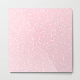 IZZY ((pastel pink)) Metal Print