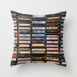 Classic Rock Throw Pillow