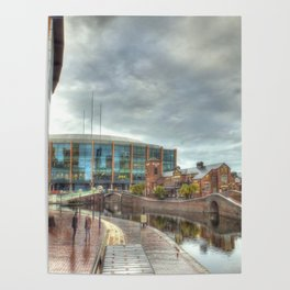 Barclaycard Arena and the Malt House Pub Poster